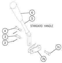 SV Sectional Valve Handle & Link kit - 660180004