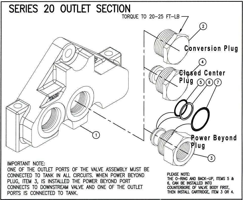 660290005 - CLOSED CENTER PLUG
