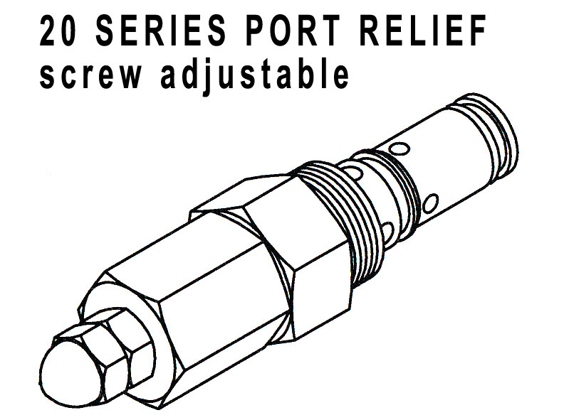660290405 - PORT RELIEF CARTRIDGE - 1750-2200