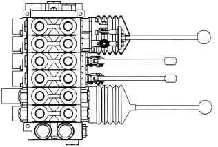 660190016 - Joystick handle kit - straight