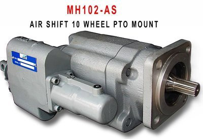 Direct-Mount 10-Wheel Dump Pump - Air Shift