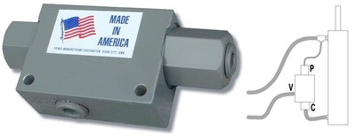 RD-1650 Pilot Operated Check Valve