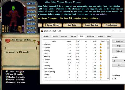 176 Month Old Shard Shield Account + 20 UNPICK Rewards