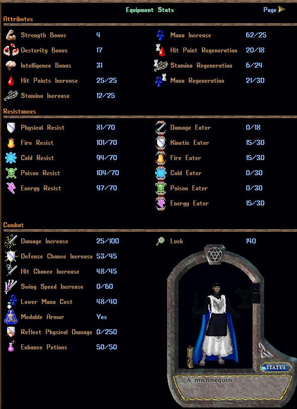 HIGH END PVP SUIT -  Nox Assassin Alchemy Mage