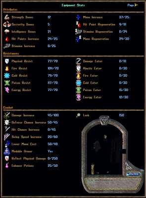 150+ Spell Damage Increase Complete Mage Tamer Weaver Suit
