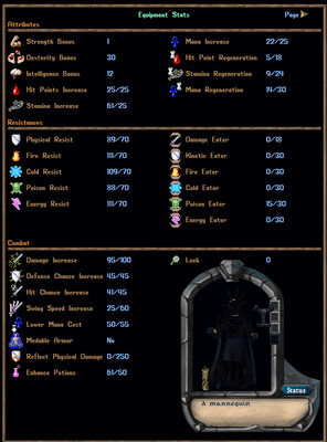 PVP or PVM - 211 Stamina Complete Archer Suit + Weapons