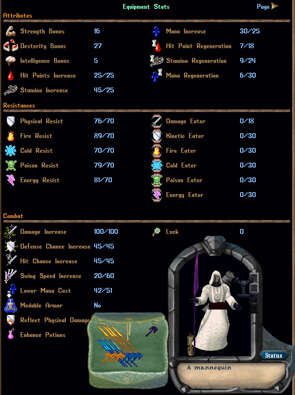 Legendary PVM Sampire Complete Suit - With Weapons