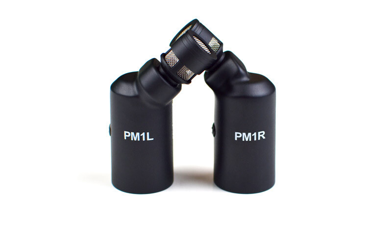 PivotMic PM1 - XY Stereo Condenser Microphone, Matched Pair