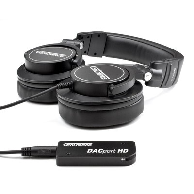 DACport HD Bundle: DACport HD + Cerene dB Headphones
