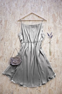 Sapphire - Gathered Strap Dress