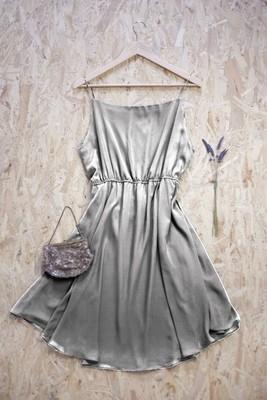 Sapphire - Gathered Strap Dress