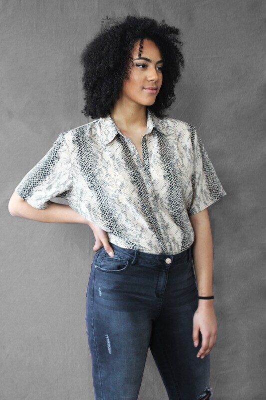 Joelle - Animal Print Shirt