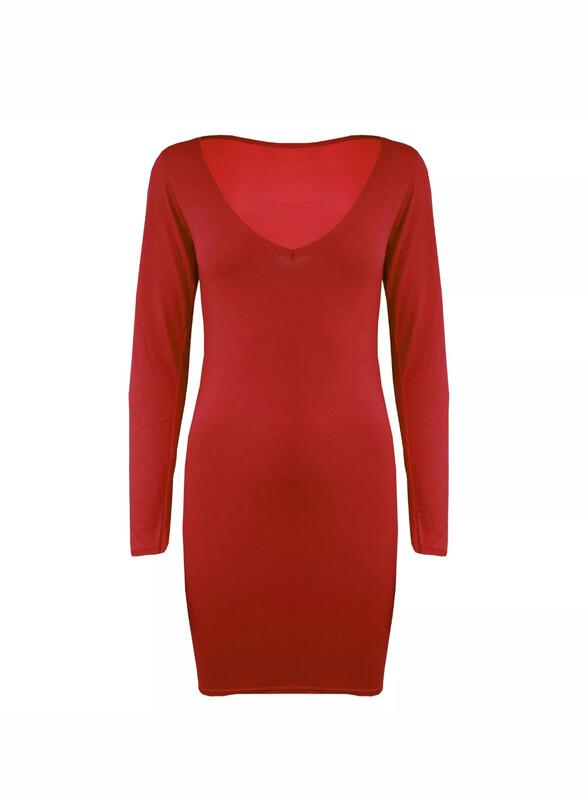 Jaime - VNeck Jersey Dress