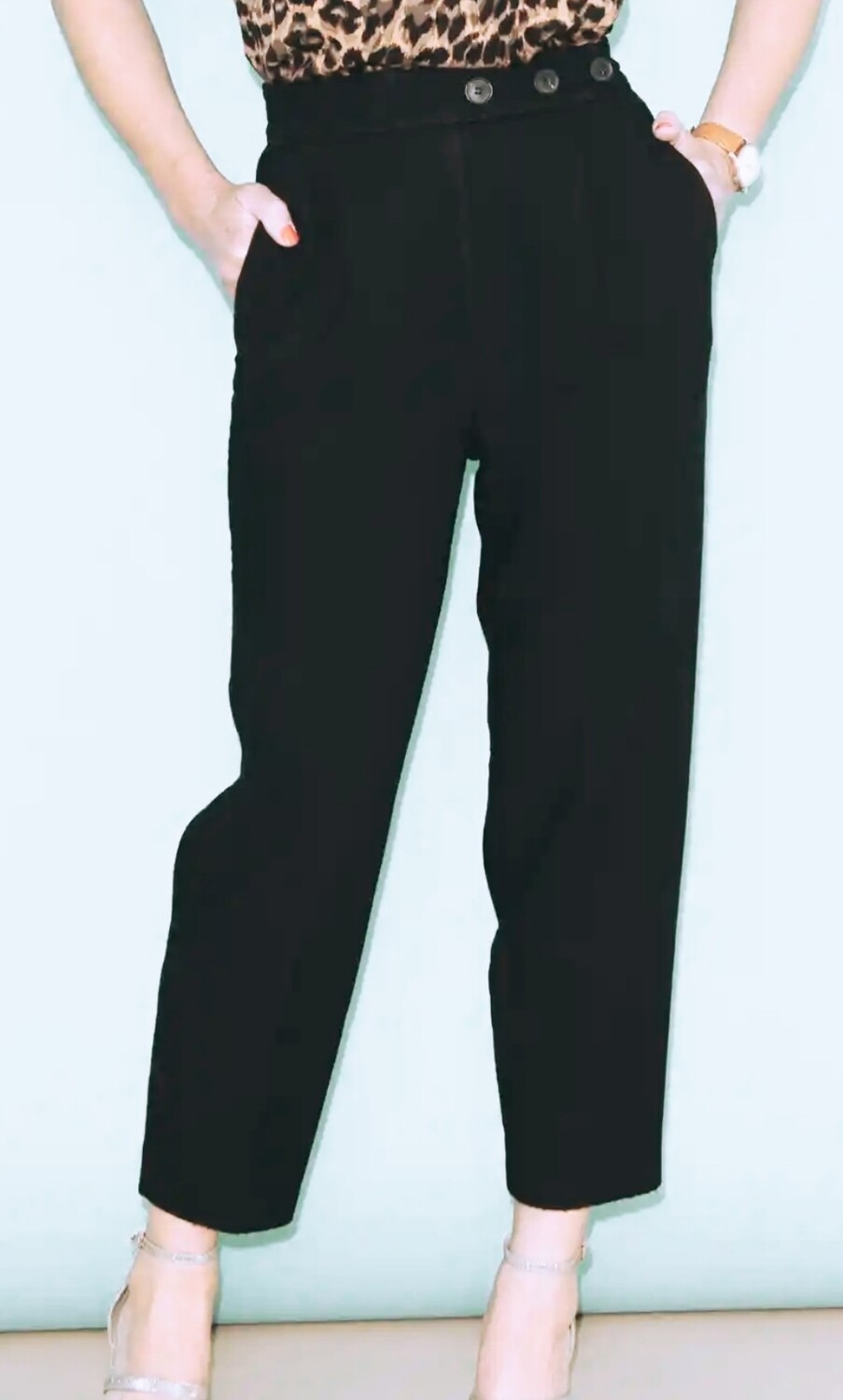 Christina - Cropped Trouser