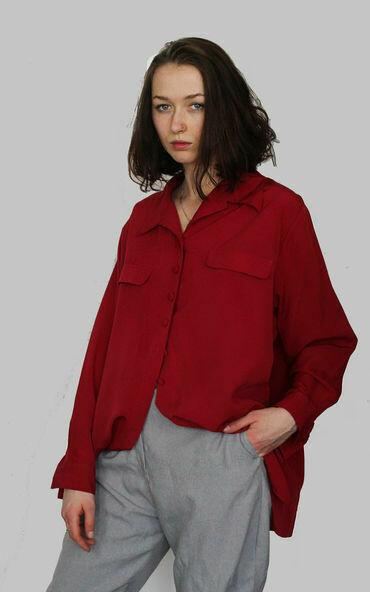 Susanna - Oversized Blouse with Pocket