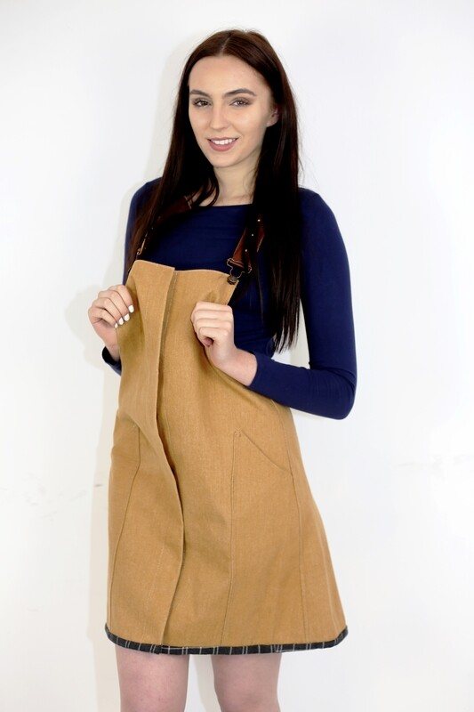 Alison - Pinafore Dress