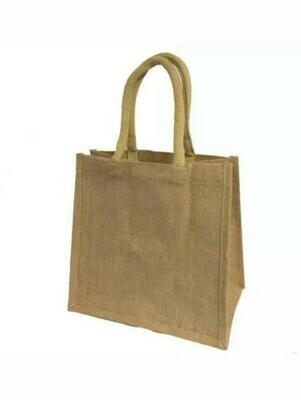 Helen - Hessian Shoppers Bag