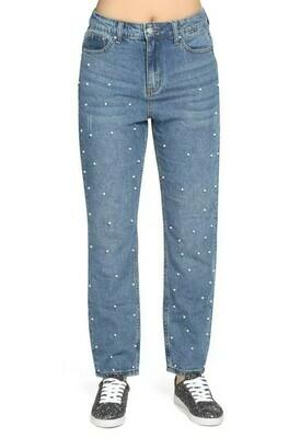 Jane - Pearled Jeans