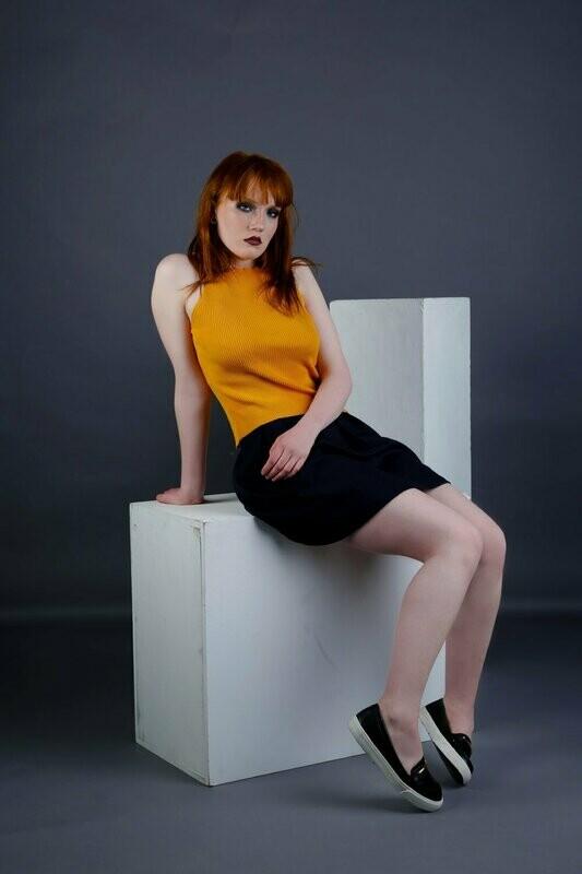 Claudia-Box Skirt