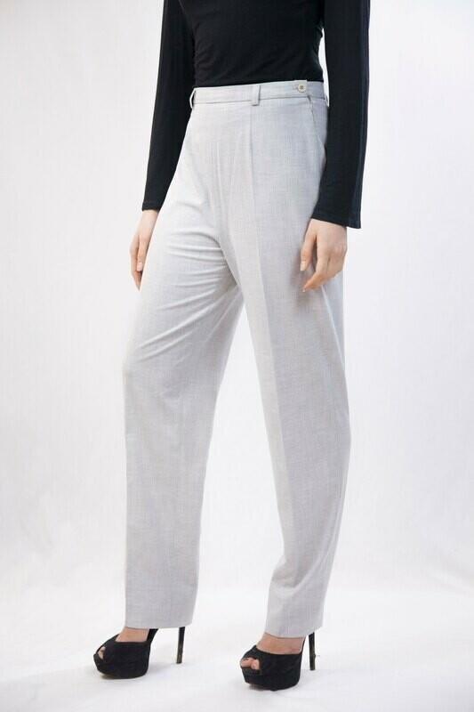 'Alex' - Slim Straight Cut Trousers