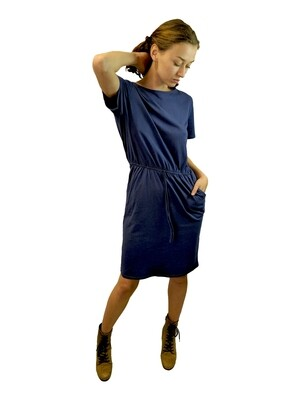 Milly - Drawstring Waist Dress