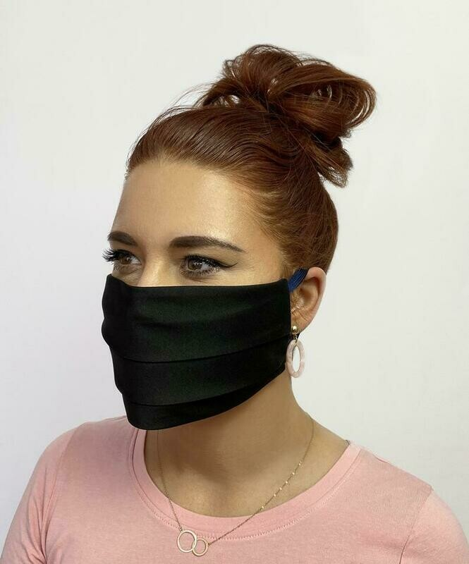 Non Medical - Pleated Satin Masks