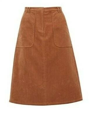 Saffron - Corduroy Skirt