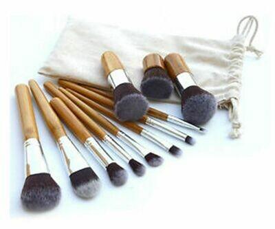 Bamboo Makeup Brushes - Makeup
