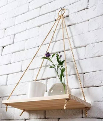 Hanging Wooden Shelf - Home