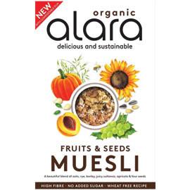 Alara Wholefoods Fruits and Seeds Muesli - Food
