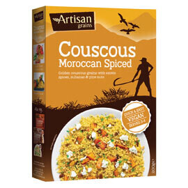 Artisan Couscous Moroccan Spiced - Food