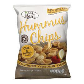 Eat Real Hummus Chips Chilli & Lemon- Food