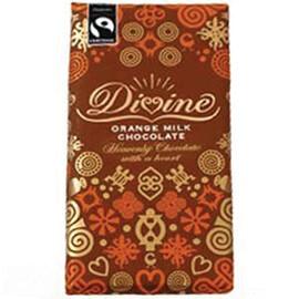 Divine Milk Chocolate with Orange- Food