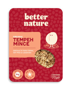 Better Nature Organic Tempeh Mince - Food