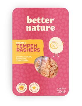 Better Nature Organic Tempeh Rashers - Food