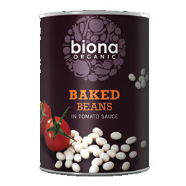 Biona Baked Beans in Tomato Sauce - Food