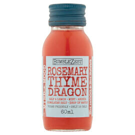 Bumblezest Mind & Mood Shot Rosemary Thyme & Dragon Fruit- Food