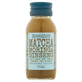 Bumblezest Propel & Protect Shot - Matcha, Moringa & Ginseng- Food