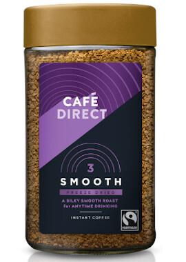 Cafe Direct Freeze Dried Smooth Roast Coffee- Food