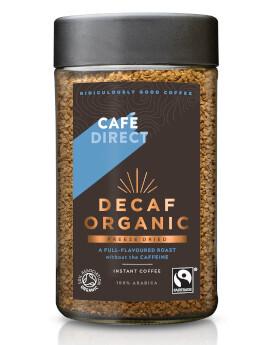Cafe Direct Freeze Dried Decaffeinated Coffee- Food