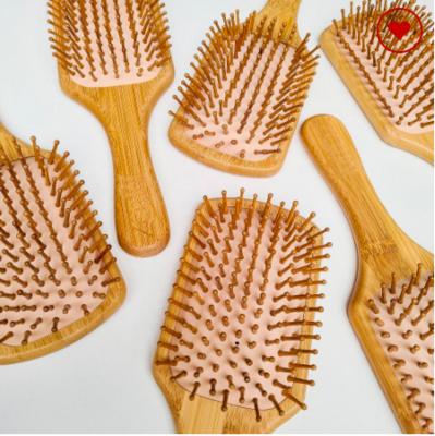 Bamboo Paddle Hairbrush - Beauty