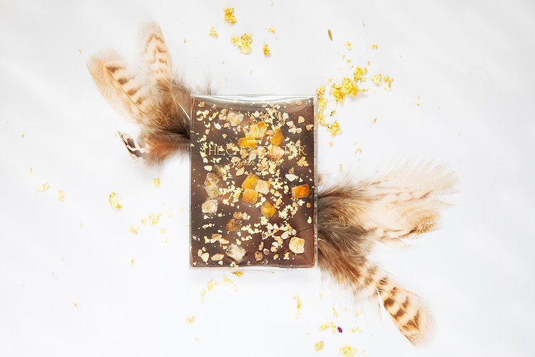 Orange Patisserie Chocolate Bar  - Gift