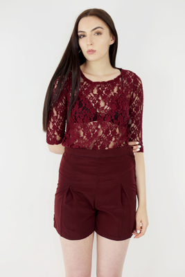 Amber - Lace top