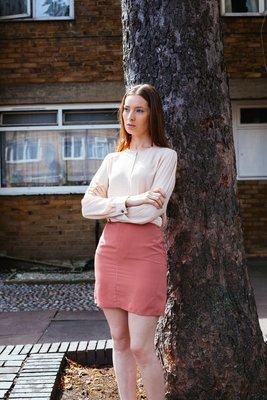 Phoebe - Contrast Panel Skirt