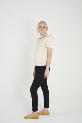 Tulip - Pleated Shoulder Top