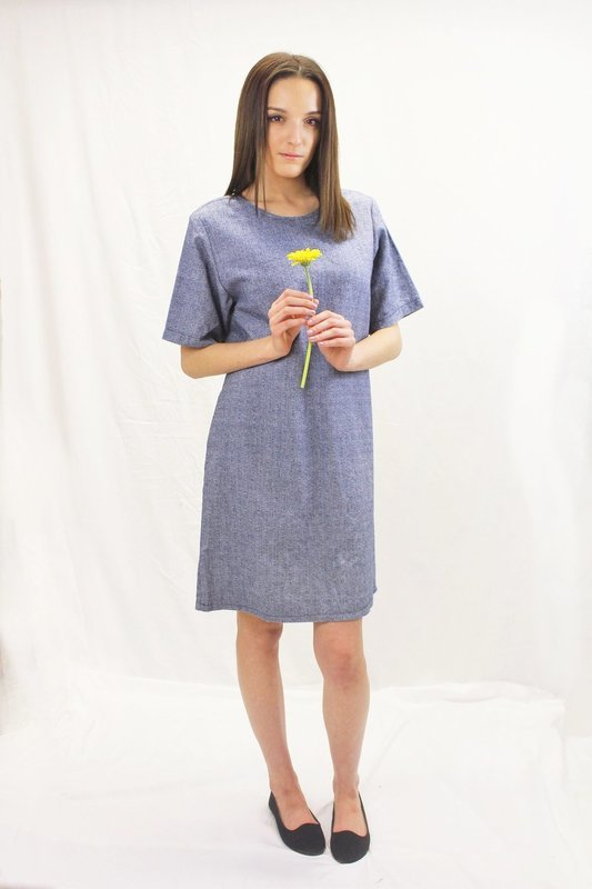 Meg - Loose Fitted Tunic Dress
