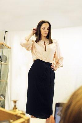 Francesca - Flounce Sleeve Blouse