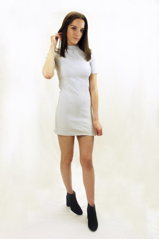 Rachelle - Grey Dress