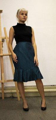 Megan - Flared Pencil Skirt