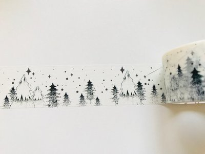 Christmas Tree Washi Tape - Stationery